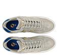 Q1905 Men's Sneaker Titanium  -  Light Grey/Hard Blue