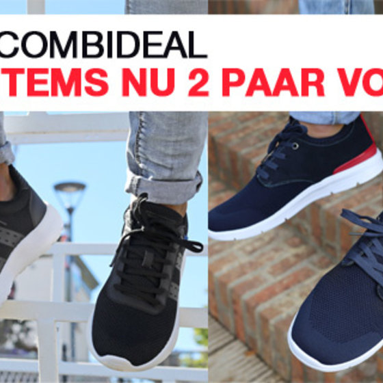 2 FOR €100 SNEAKERS