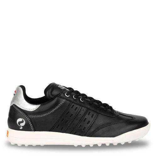 Women's Golf Shoe Pitch  -  Black/Silver