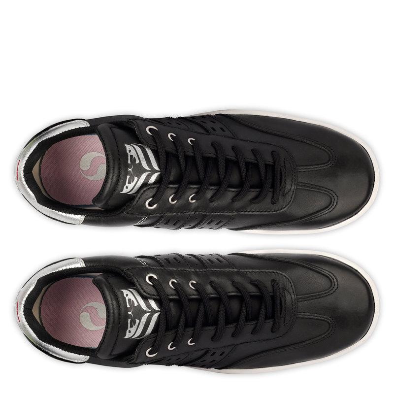 Q1905 Women's Golf Shoe Pitch  -  Black/Silver