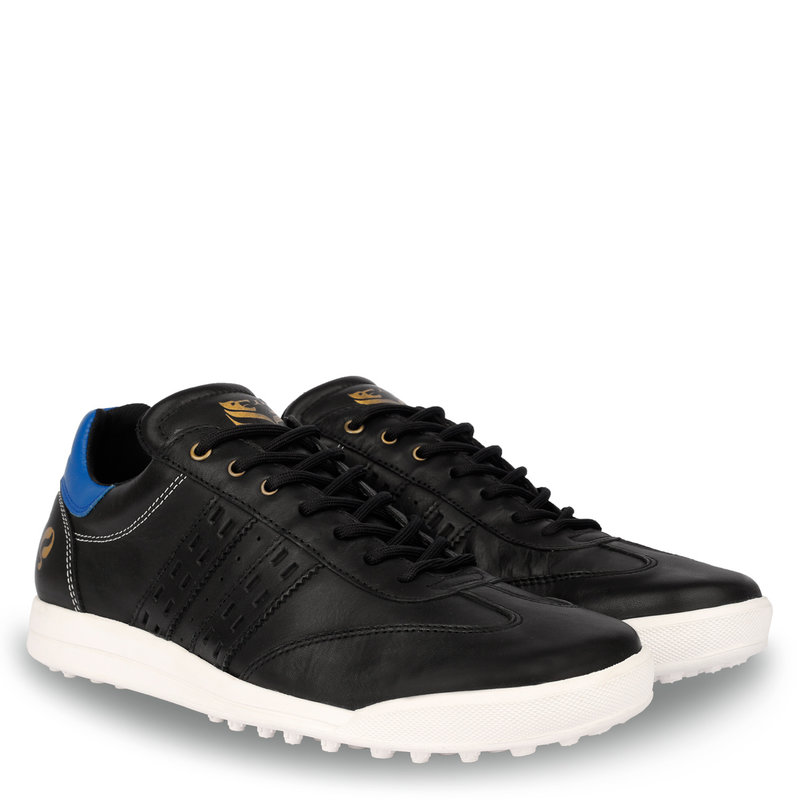 Q1905 Men's Golf Shoe Pitch  -  Black/Hard Blue