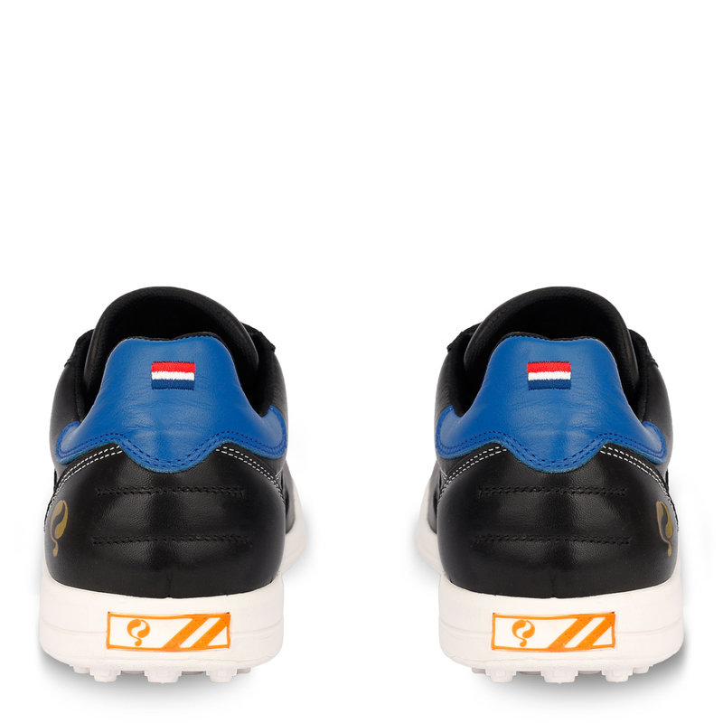 Q1905 Heren Golfschoen Pitch  -  Zwart/Hard Blauw