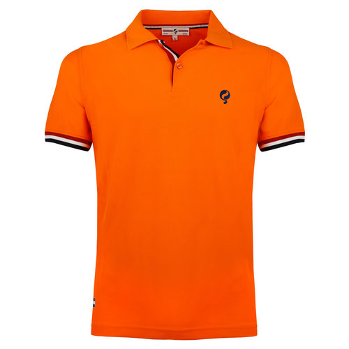 Men's Polo Joost Luiten  -  Orange