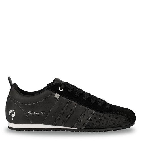 Heren Sneaker Typhoon SP  -  Zwart/Donkergrijs