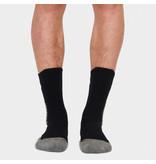 Q1905 Heren Sokken Tech Zwart / Wit / Grijs