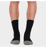 Q1905 Men's Socks Tech Black / White / Grey