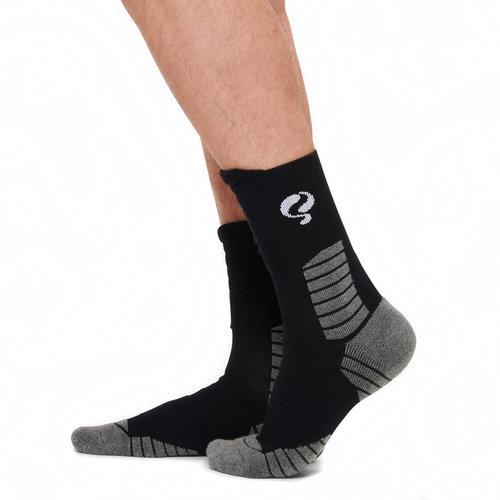 Heren Sokken Tech Zwart / Wit / Grijs