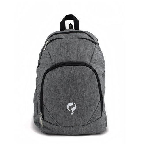 Backpack Nr.10 Grey / White