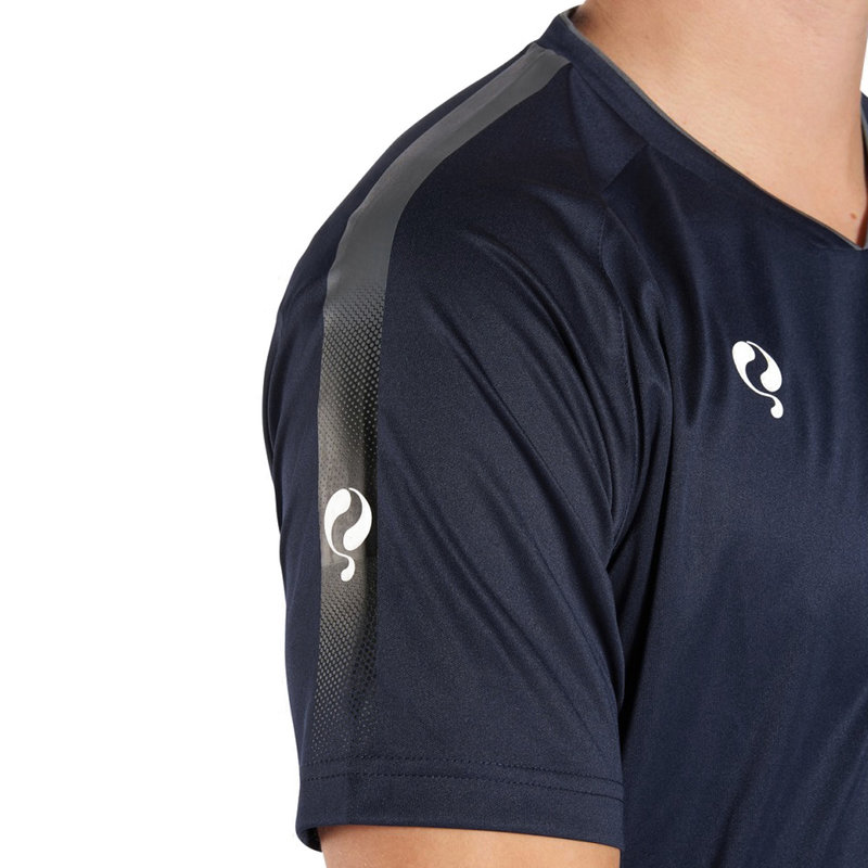 Q1905 Men's Trainingsshirt Maher Navy / Grey / White