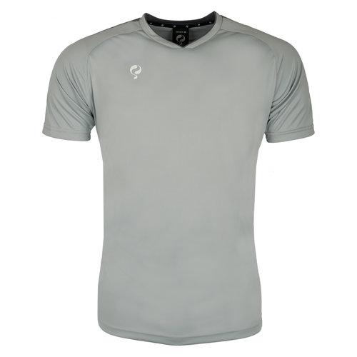 Heren Trainingsshirt Maher Grijs / Zwart / Wit