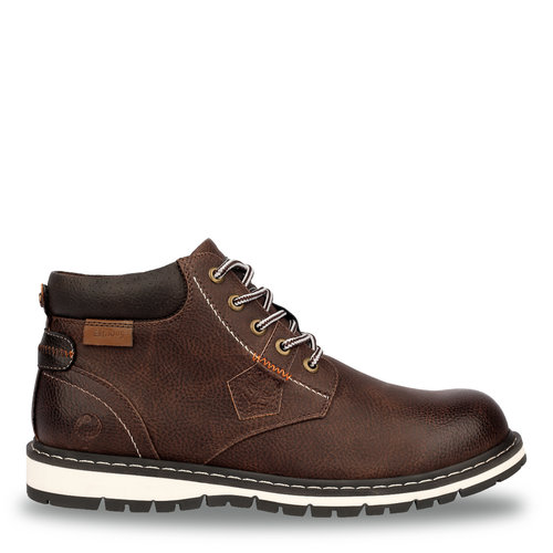 Men's Shoe Voorburg - Dark Cognac