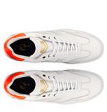 Q1905 Men's Golf Shoe Pitch  -  White/Neon Orange