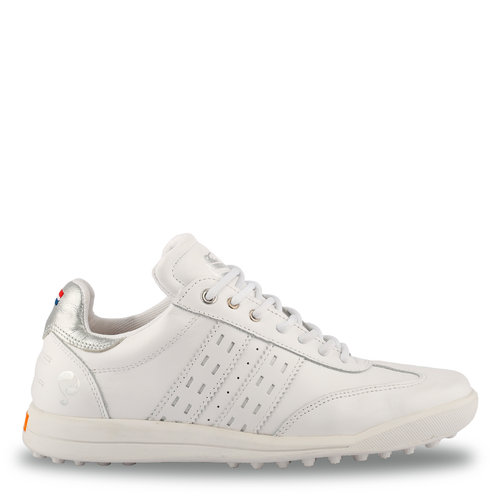 Women's Golf Shoe Pitch  -  White/Silver