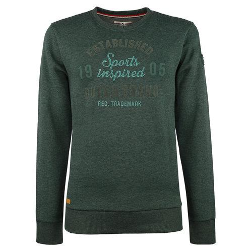 Men's Pullover Zaandijk  -  Dark Green