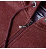 Q1905 Men's Vest Almere  -  Dark Red