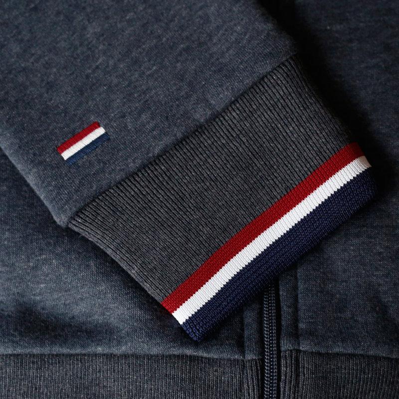 Q1905 Heren Vest Almere  -  Denim Blauw