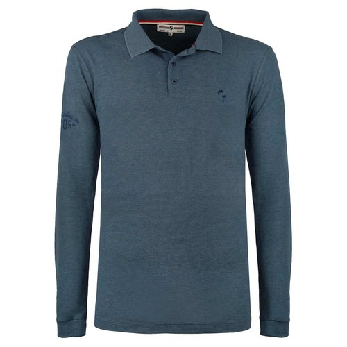 Men's Polo Blaricum - Denim Blue