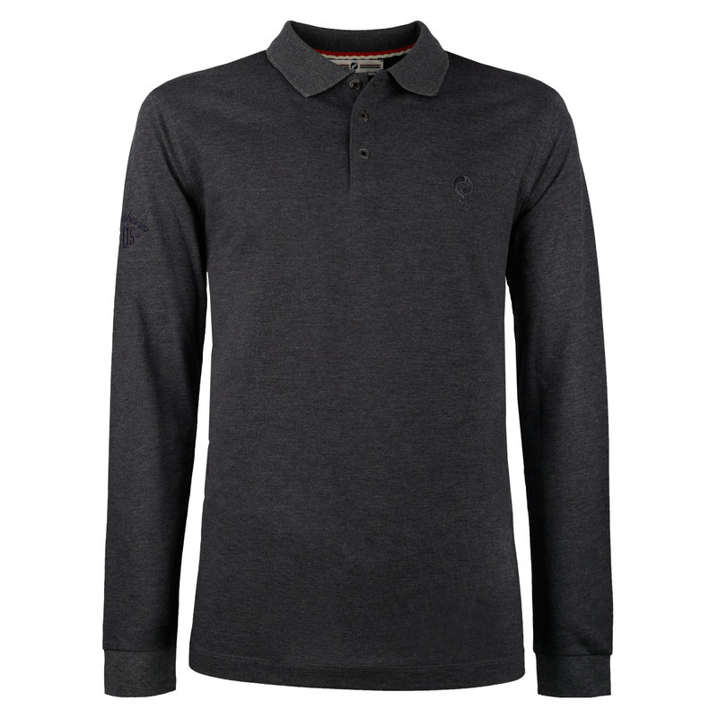 Q1905 Men's Polo Blaricum - Antracite Gray