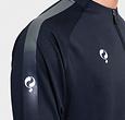 Q1905 Heren Sweater Foor Navy / Grijs / Wit