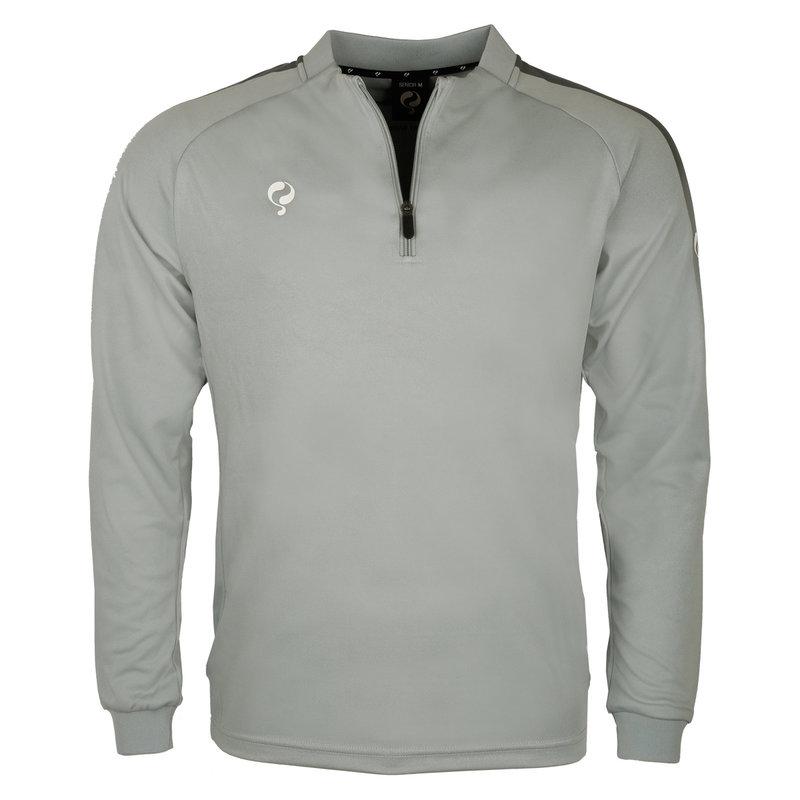 Q1905 Heren Sweater Foor Lichtgrijs / Grijs / Wit