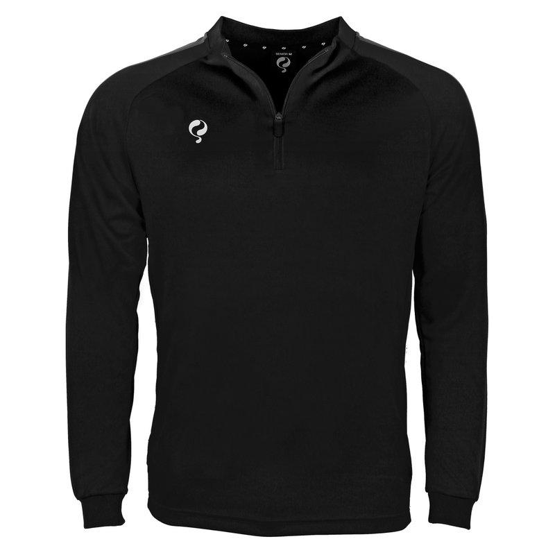 Q1905 Heren Sweater Foor Zwart / Grijs / Wit