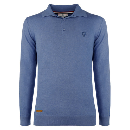 Men's Pullover Lunteren - Middle blue
