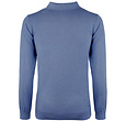 Q1905 Men's Pullover Lunteren - Middle blue