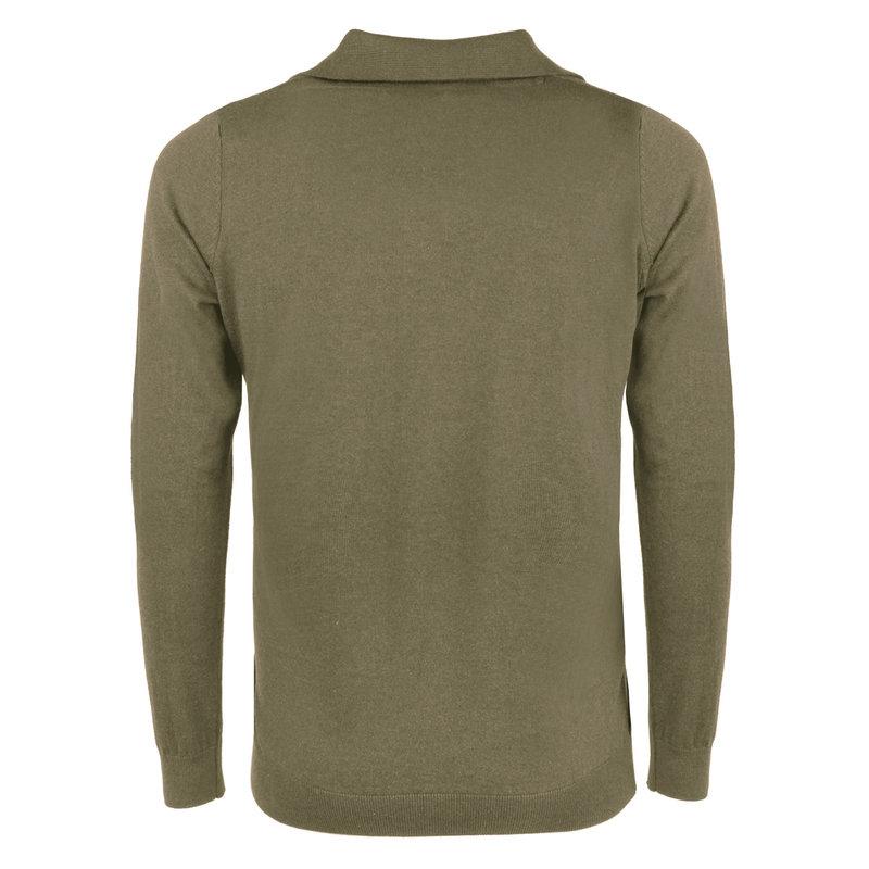 Q1905 Men's Pullover Lunteren - Khaki green