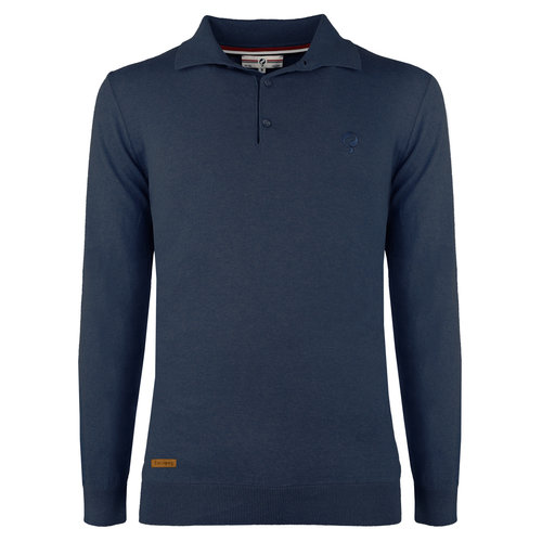 Men's Pullover Lunteren - Denim blue