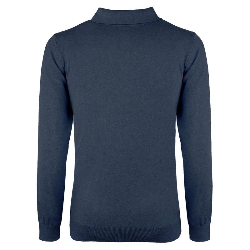 Q1905 Men's Pullover Lunteren - Denim blue