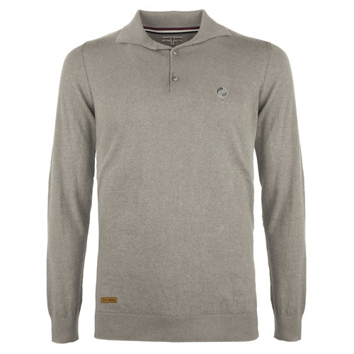 Men's Pullover Lunteren - Middle gray