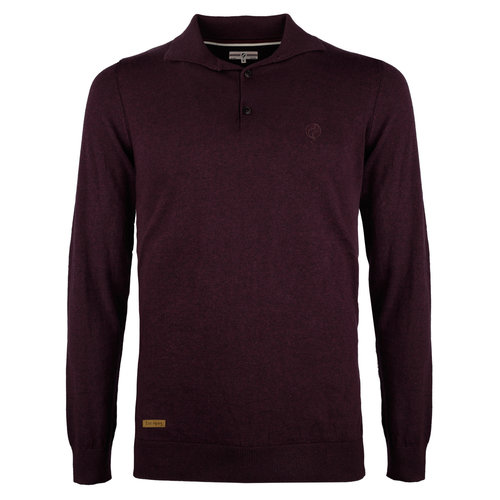 Men's Pullover Lunteren - Wine red