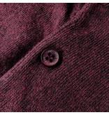 Q1905 Men's Pullover Lunteren - Wine red