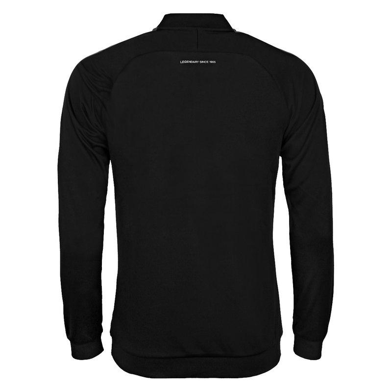 Q1905 Men's Trainingsjack Doan Black / Grey / White