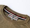 Q1905 Men's Pullover Leusden - Khaki green