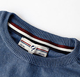 Q1905 Men's Pullover Leusden - Denim blue