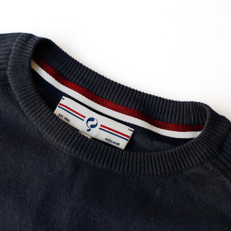 Q1905 Men's Pullover Leusden - Darkblue