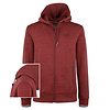 Q1905 Men's Vest Almere  -  Dark Red