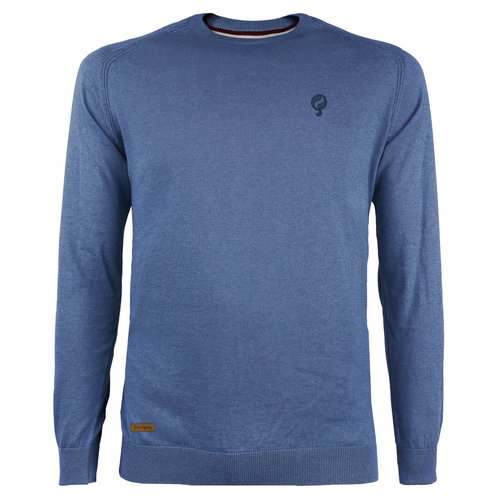 Men's Pullover Leusden - Middle blue