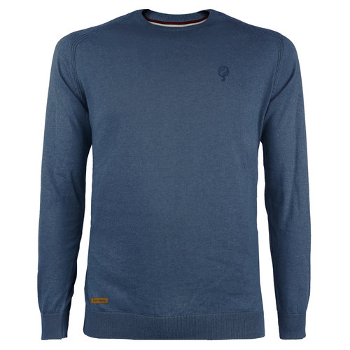 Men's Pullover Leusden - Denim blue