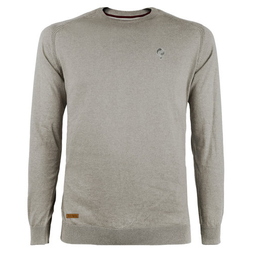 Men's Pullover Leusden - Middle gray