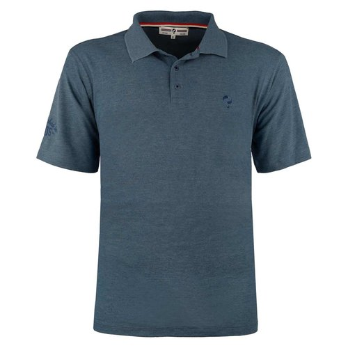 Heren Polo Willemstad  -  Denim Blauw