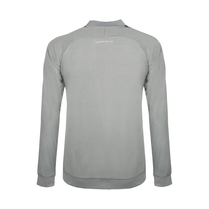 Q1905 Kids Trainingsjack Doan Light Grey / Grey / White
