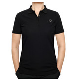 Q1905 Women's Golf Polo Square Black