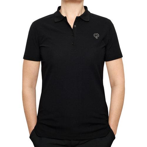 Women's Golf Polo Square Black