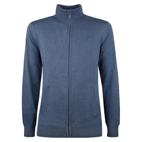 Men's Pullover Boskoop - Denim blue