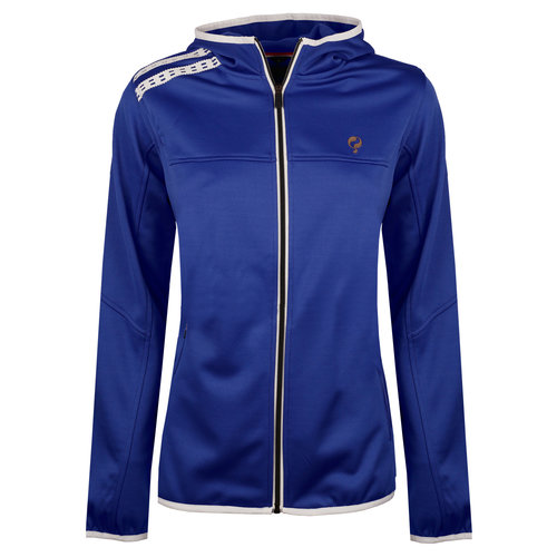 Dames Q Club hooded jacket  -  surf the web