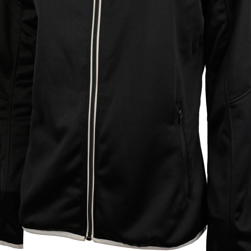 Q1905 Ladies Q Club hooded jacket  -  blue graphite