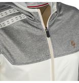 Q1905 Dames Q Club hooded jacket  -  snow white