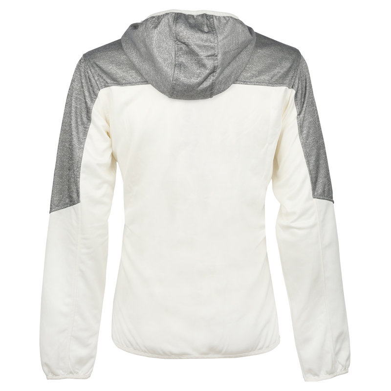 Q1905 Heren Q Club hooded jacket  -  snow white